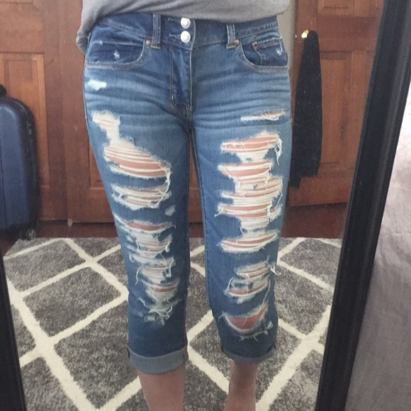 American Eagle Outfitters Denim - Destroyed Jeans